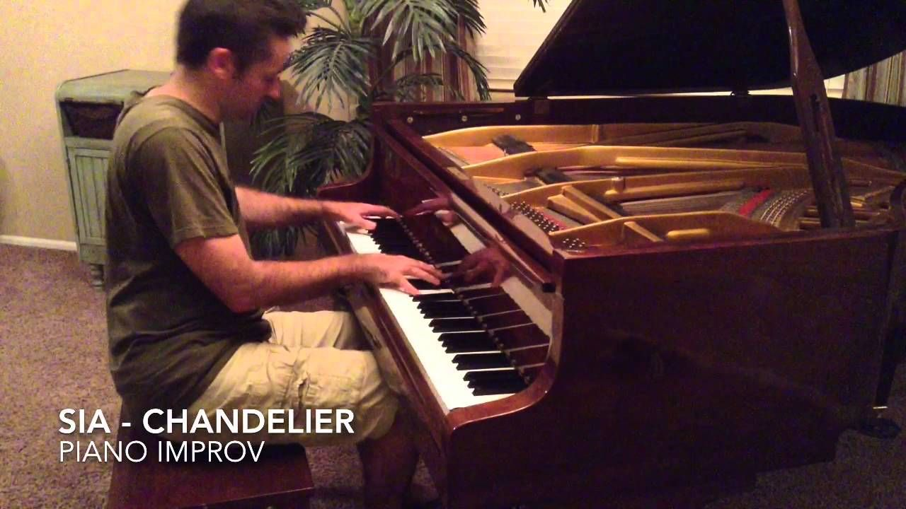 Sia chandelier piano cover by jared johnson recorded