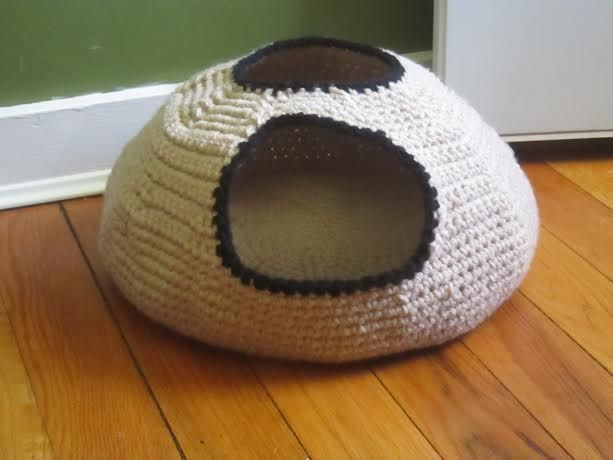 Cat Cave Crochet Pattern Release Knot By Granma Gift Ideas