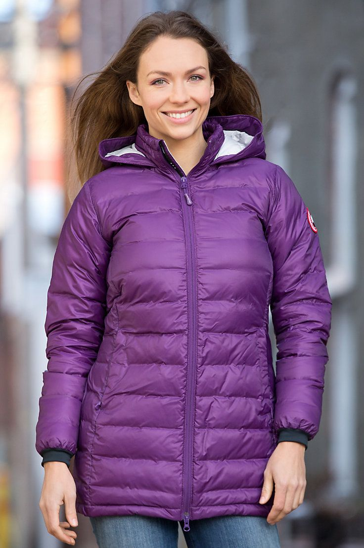 Women's Camp Canada Goose Hooded Down Jacket Overland