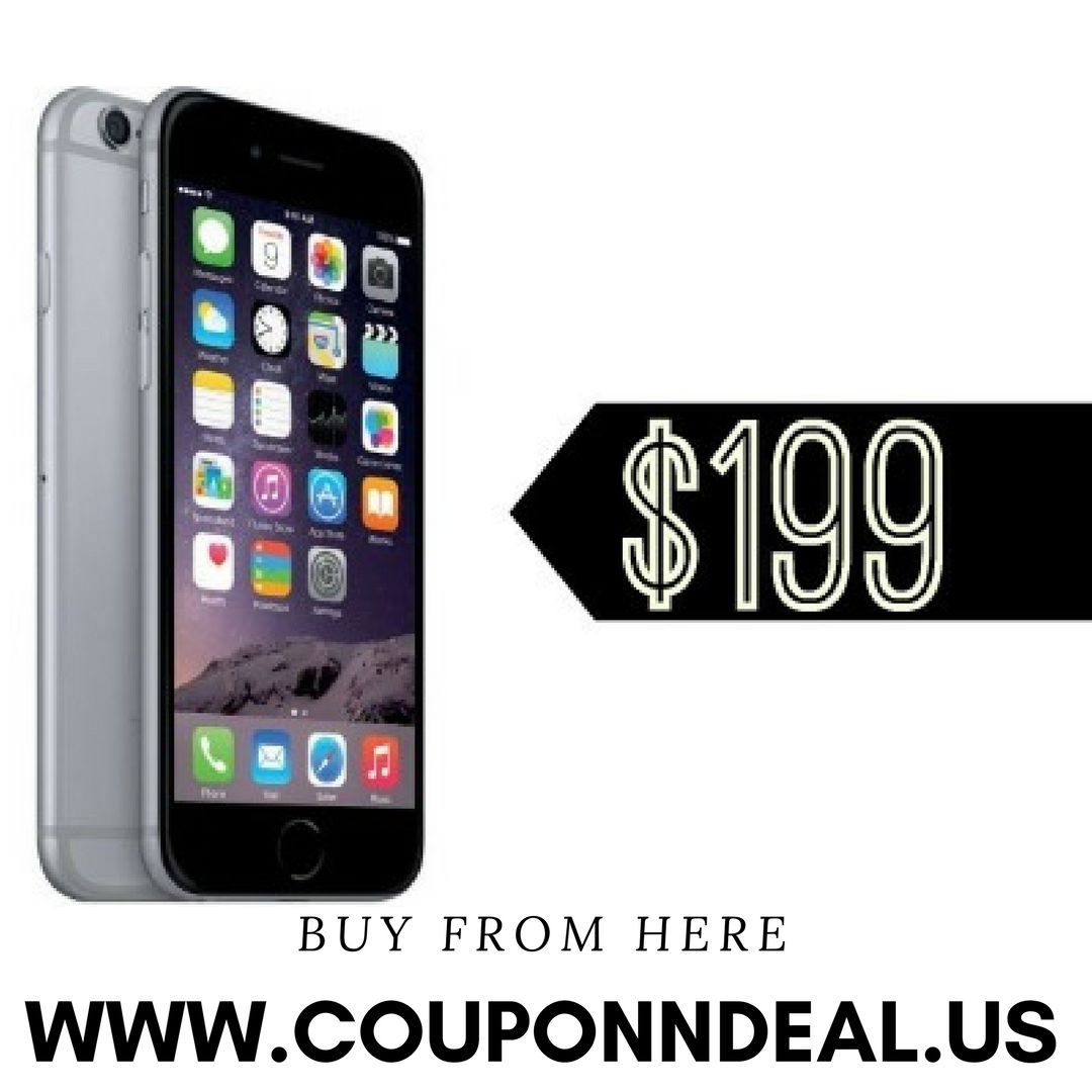 Save $200 On Straight Talk iPhone 6 32GB At Walmart