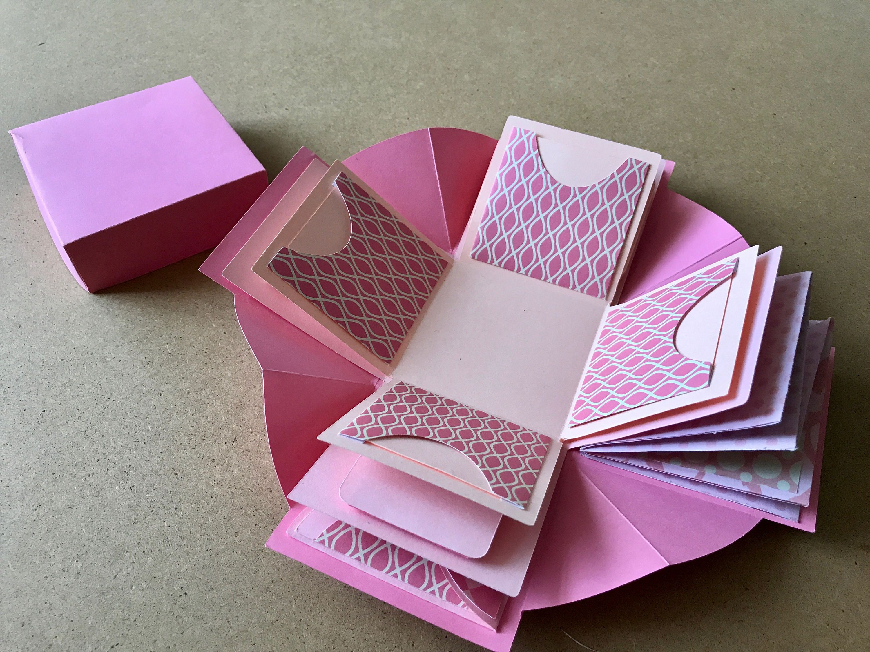 Complete Exploding Box SVG with Inserts | Cricut dream ...