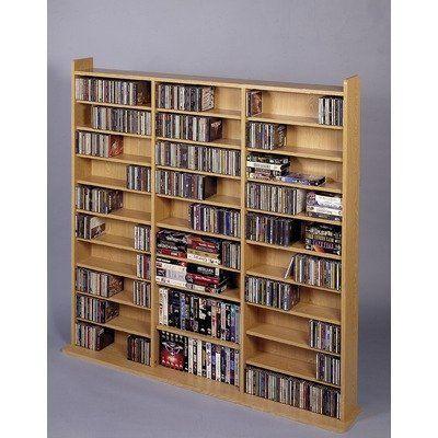 Found It At Wayfair   Leslie Dame Deluxe Multimedia Storage Rack