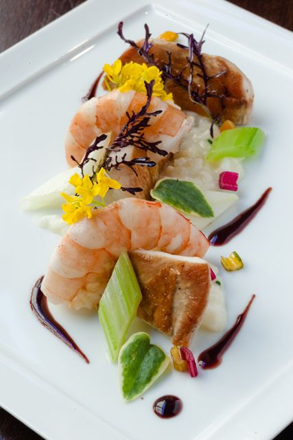 By hardy wilson of land and sea gastronomie nouvelle cuisine bouche - Cuisine hardy ...