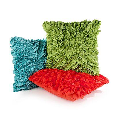 Textured Ruffle Decorative Throw Pillows At Big Lots Big Lots Inspiration Big Lots Decorative Pillows
