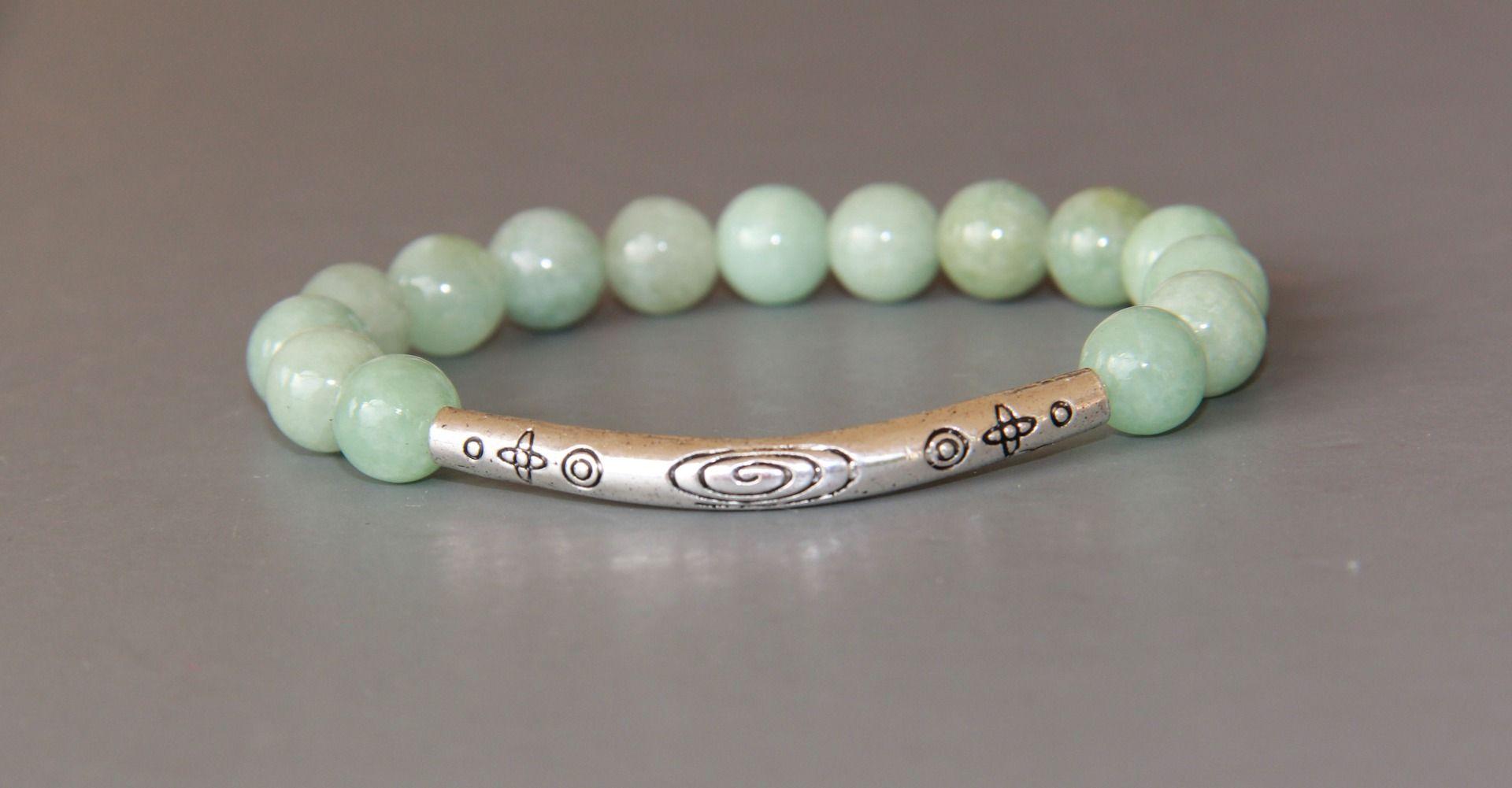 bracelet en jade bouddhiste ( jade veritable certifié 1er choix )  Bijoux  pour hommes par