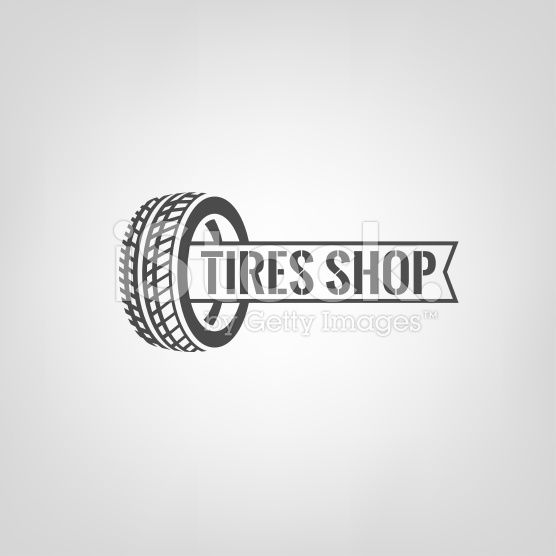 Beautiful Vector Illustration Of The Tire Shop Logotype Modern - Open office invoice template free streetwear online store
