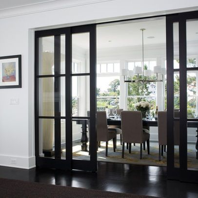 Nice Love The Sliding Glass Panel Doors To Separate And Close Off Room For More  Privacy Without