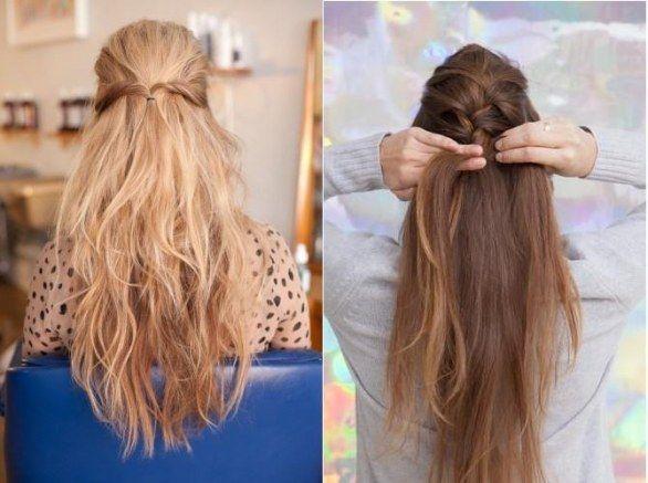 Conosciuto Pettinature per capelli lunghi fai da te | capelli lunghi  VB03