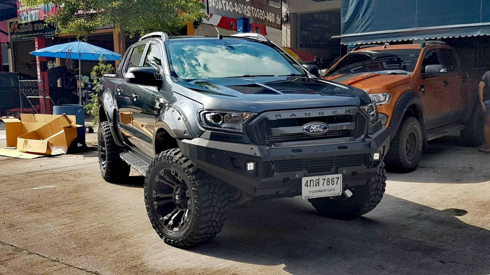 2018 Ford Ranger Wildtrak Tuning Offroad 3 Ford In 2020 Ford Ranger Wildtrak Ford Ranger Ford Ranger Truck