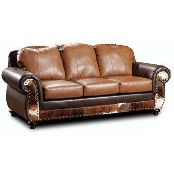 Attrayant Chelsea Home Denver Leather Sofa