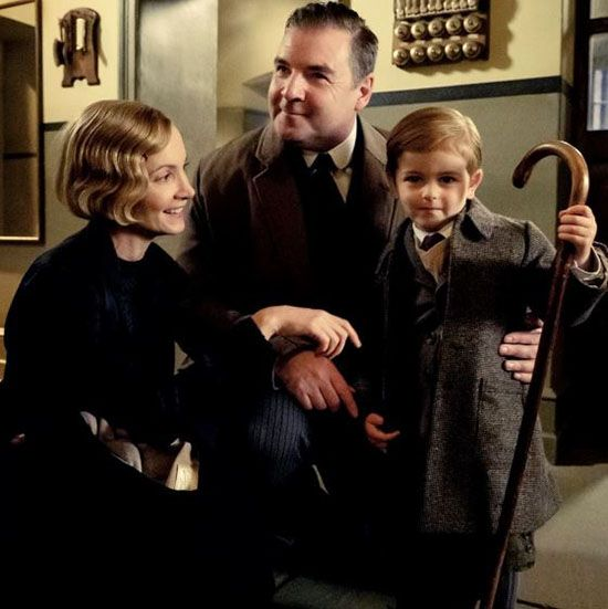 Downton Abbey release the first full family portrait of this beloved character