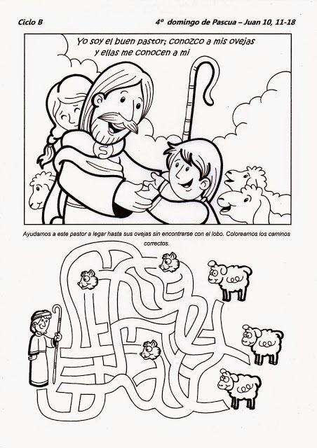 pastoral infantil para colorear - Buscar con Google   Busy bags ...