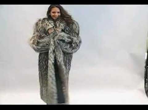 Weburs Silver Fox Coat You