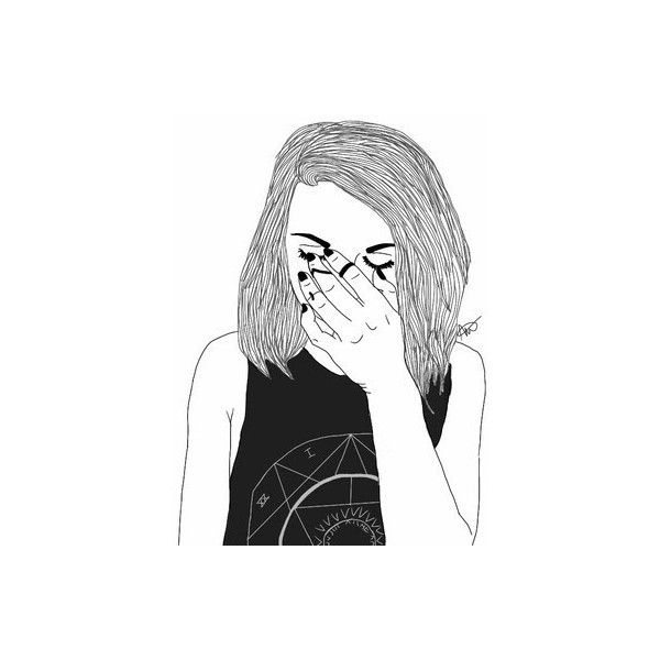 We Heart It ❤ liked on Polyvore featuring fillers, drawings, doodles, art,