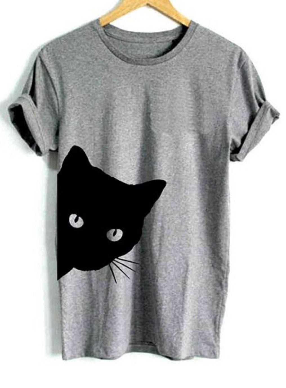2018 Selling Fashion Round Collar T Shirt Print Finger Adorable Panda Girl T-shirt Summer Clothes Casual Kids T-shirt Children Novel In Design;