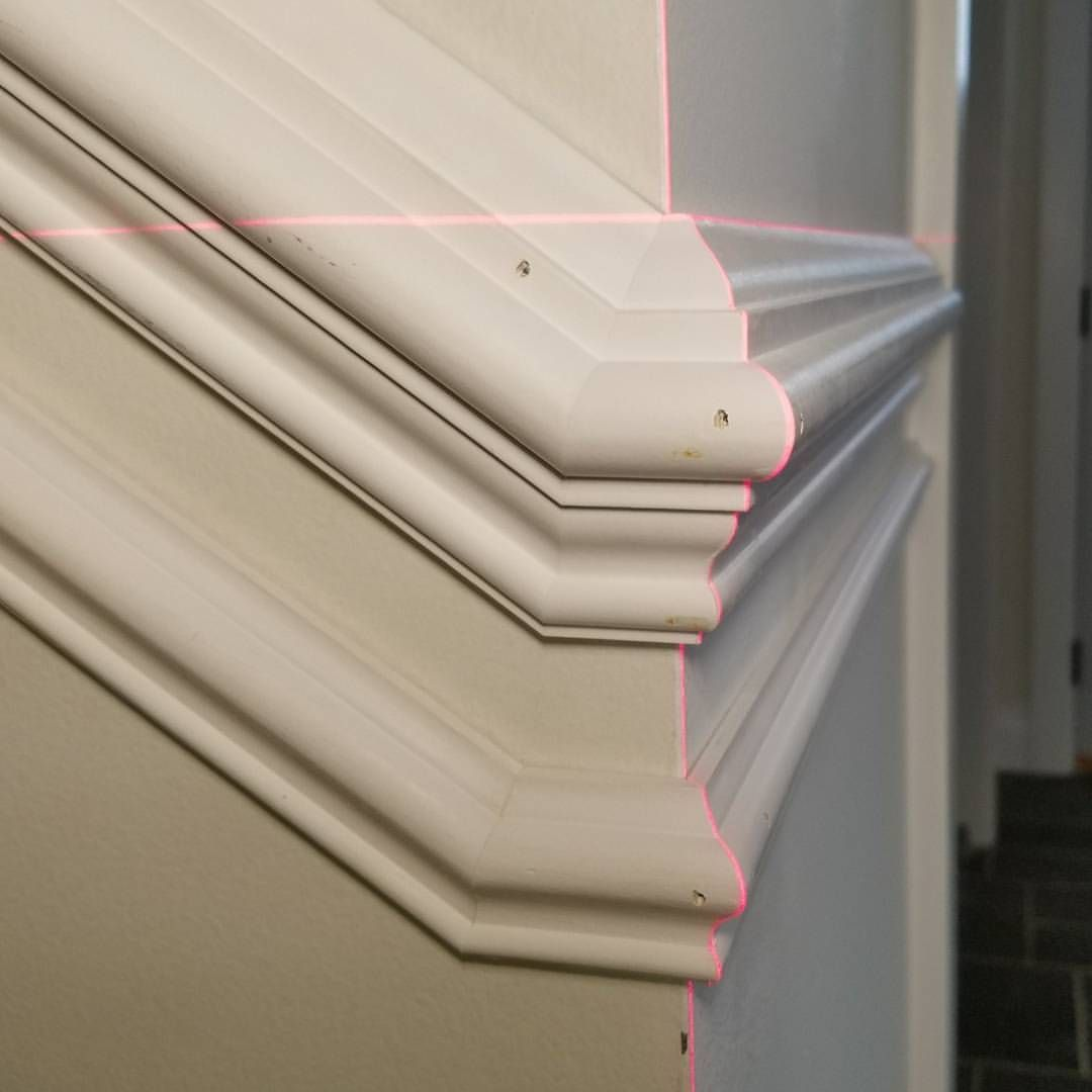 Transitioning Different Planes In A Sentence Find Stair Rake Angle Typically Between 35 To 39 Divide By 2 And That Trim Carpentry Carpentry Custom Woodworking