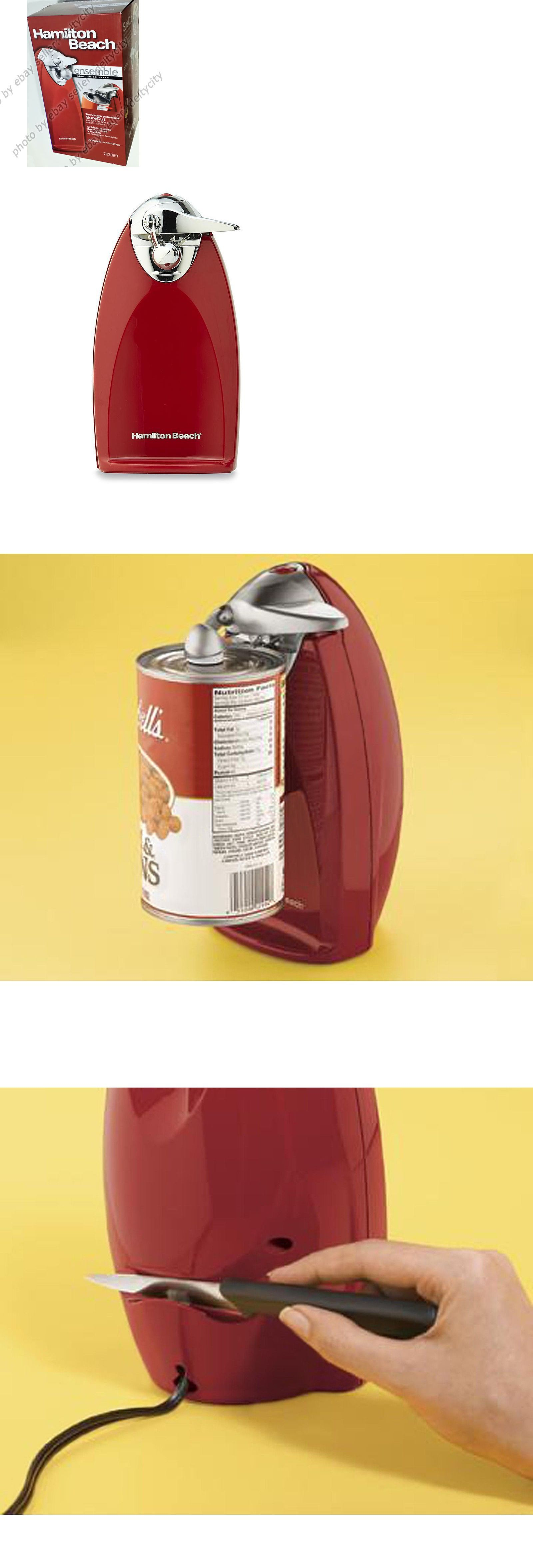 Can Openers And Crushers 20670 Hamilton Beach Brands 76388r