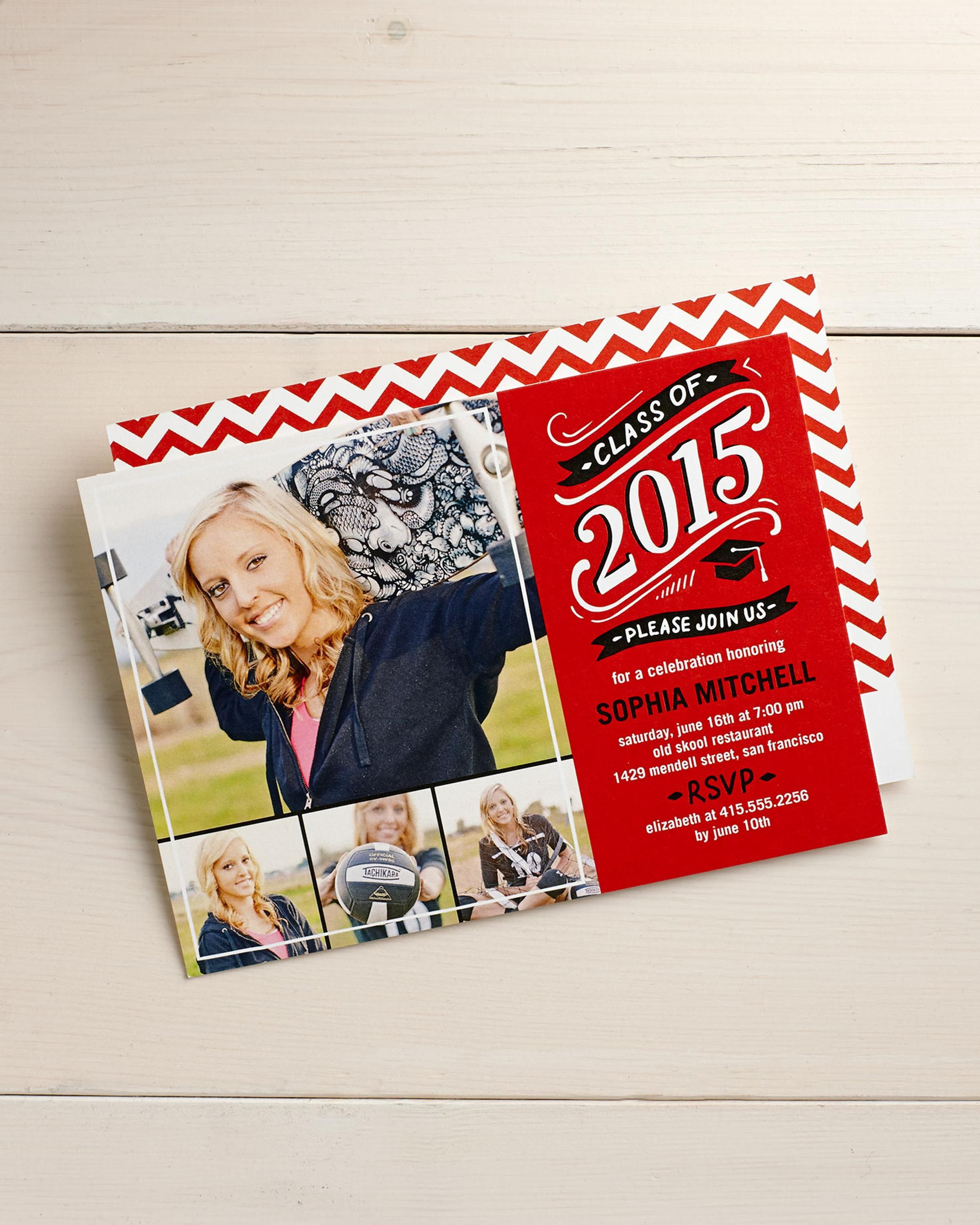 Find the graduation announcement or invitation design that fits ...