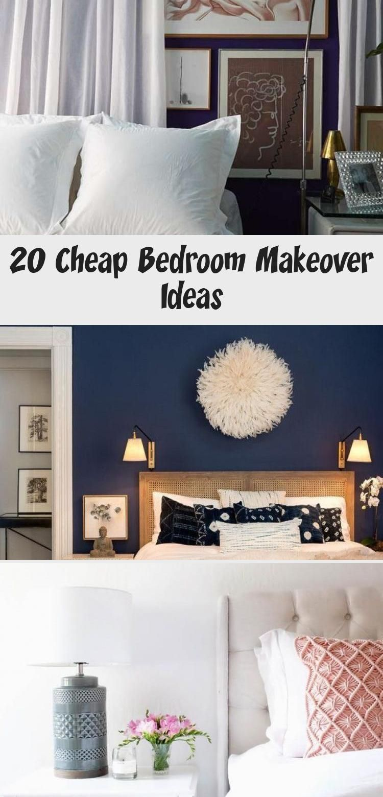 20 CHEAP BEDROOM MAKEOVER IDEAS CHEAP BEDROOM MAKEOVER