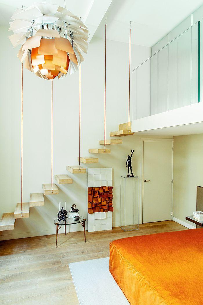 Des ors et du design à Paris Bedrooms, Interiors and Design bedroom