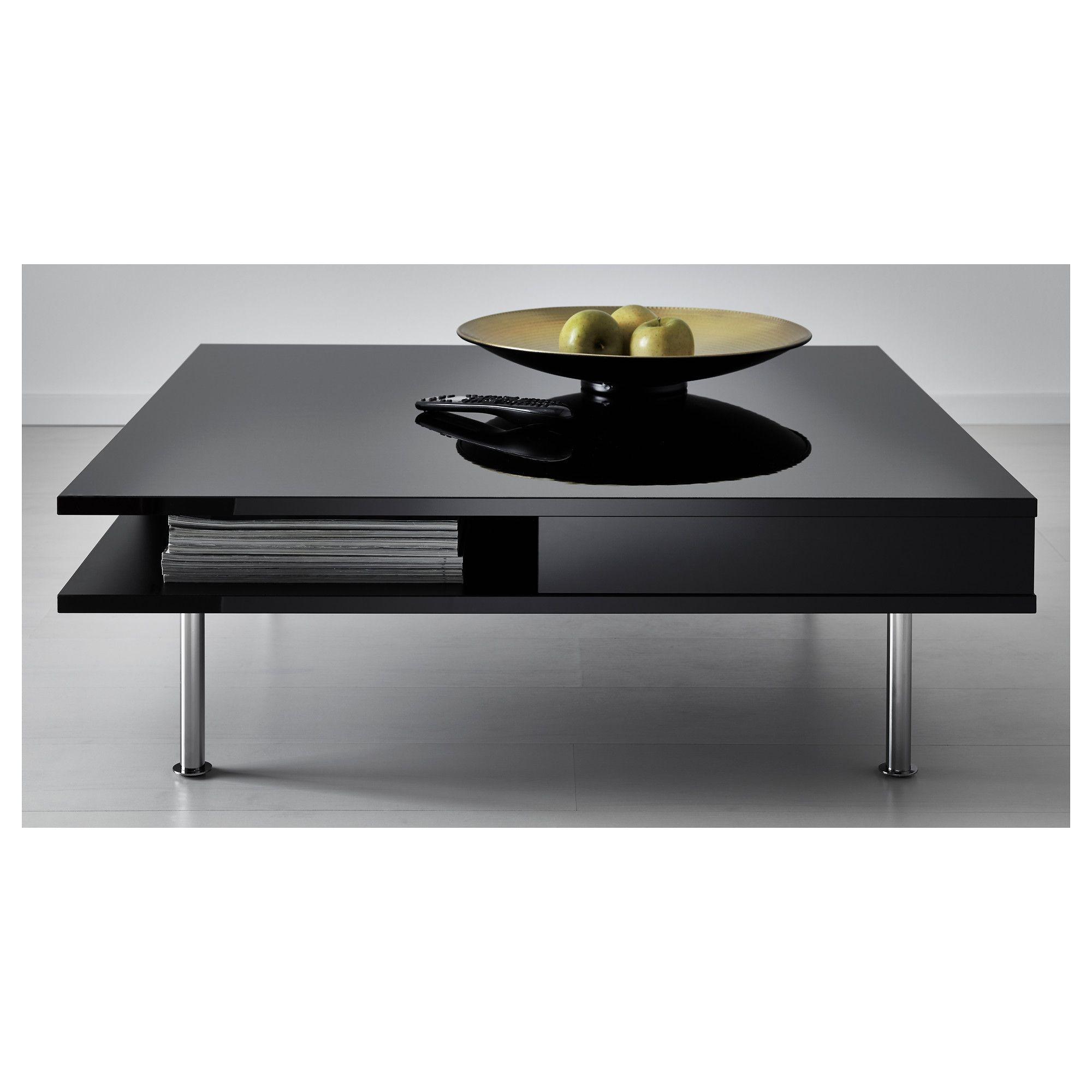 Tofteryd Trapezi Meshs Ikea Black Square Coffee Table Black Coffee Tables Coffee Table High Gloss [ 2000 x 2000 Pixel ]