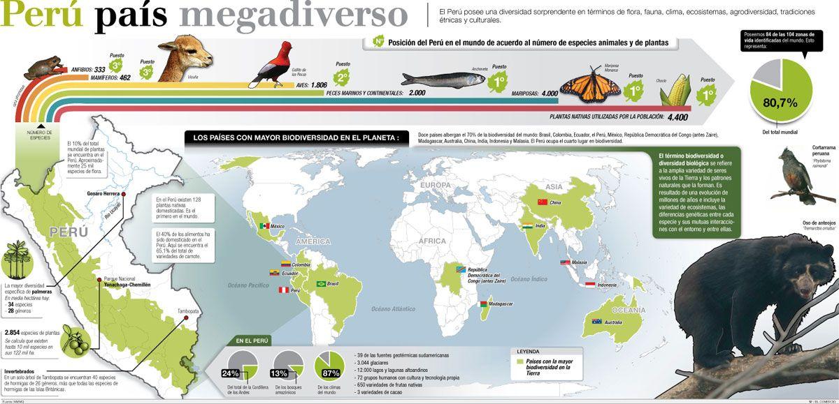 Biodiversidad En El Perú Animales En Peligro De Extincion Reporte De Lectura Conservacion De La Biodiversidad