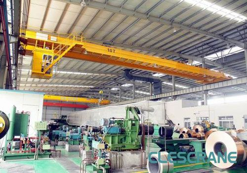 50 Ton Overhead Crane Clescrane 50 ton overhead crane for paper industry, the paper industry with the wet and dry ends of paper machines accompanied with a high level of reliability and required maintenance work. E-mail:info@clescrane.com