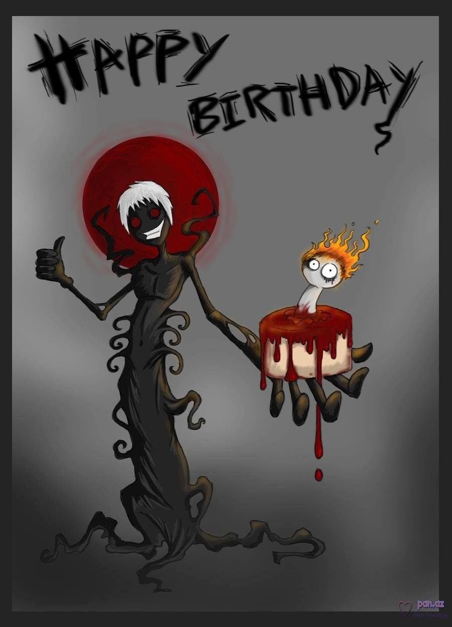 Felicidadesssss mi mundo gore pinterest spooky birthday greetings photo this photo was uploaded by find other spooky birthday greetings pictures and photos or upload your own wi kristyandbryce Choice Image