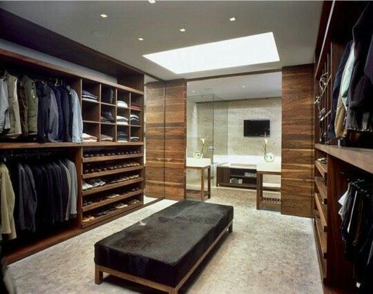 Walk In Closet For Men Masculine Design 11
