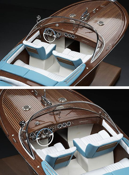 Amati Riva Aquarama - Italian Runabout (A1608) | Go Crazy | Runabout boat, Wooden speed boats ...