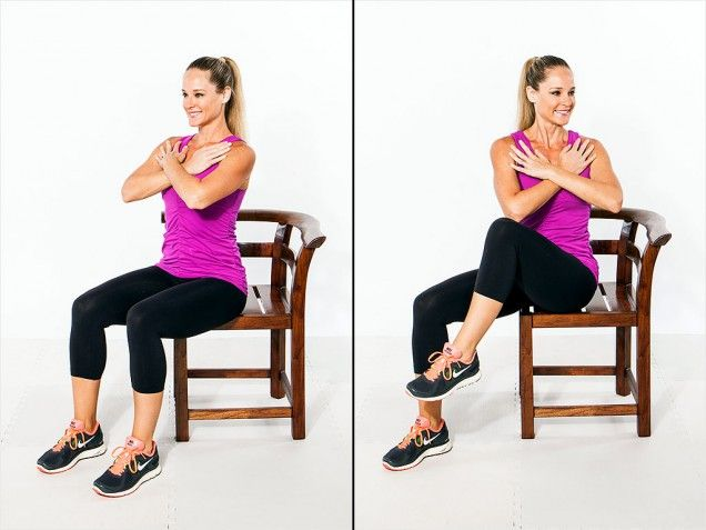 Seated Twist: The Total Body Workout for Beginners