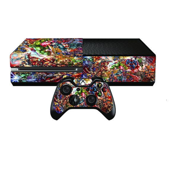 Xbox One Console Sticker Skin Free Wireless By Ps4skins On Etsy Playstation Nintendo Xbox