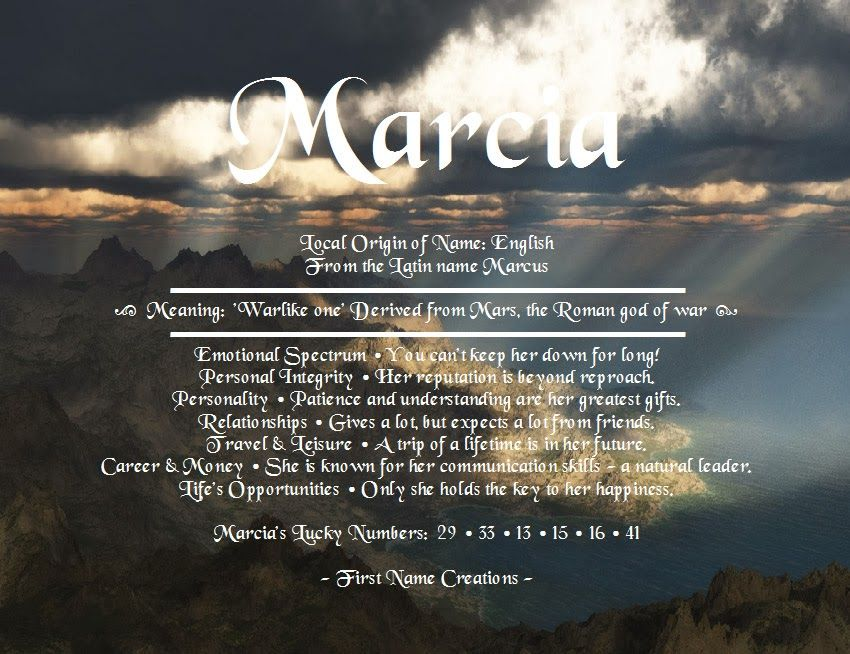 Marcia name meaning first name creations quotes pinterest marcia name meaning first name creations negle Choice Image