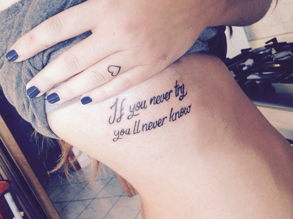 My third tattoo #Coldplay #quotes #FixYou #ColdplayTattoo