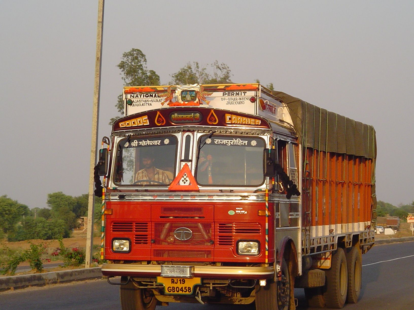 Indian truck now that s what you call a lorry