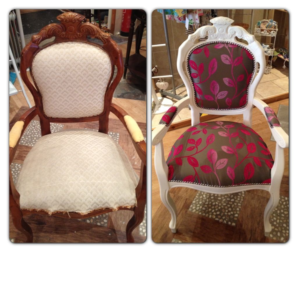 Before And After! Restored Carver Chair Www