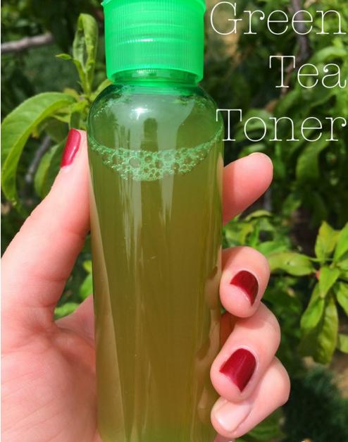 Green tea toner