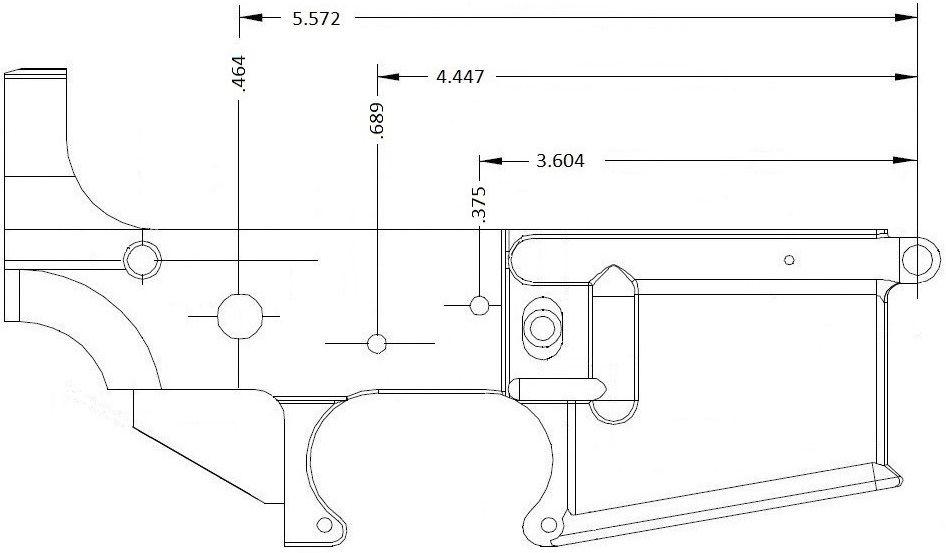80 milling info ar15 com my style pinterest ar15 for My blueprint arkansas