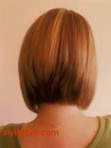 Inverted Bob Hairstyle Back View Bing Images Gaya Rambut Bob Ide Potongan Rambut Rambut
