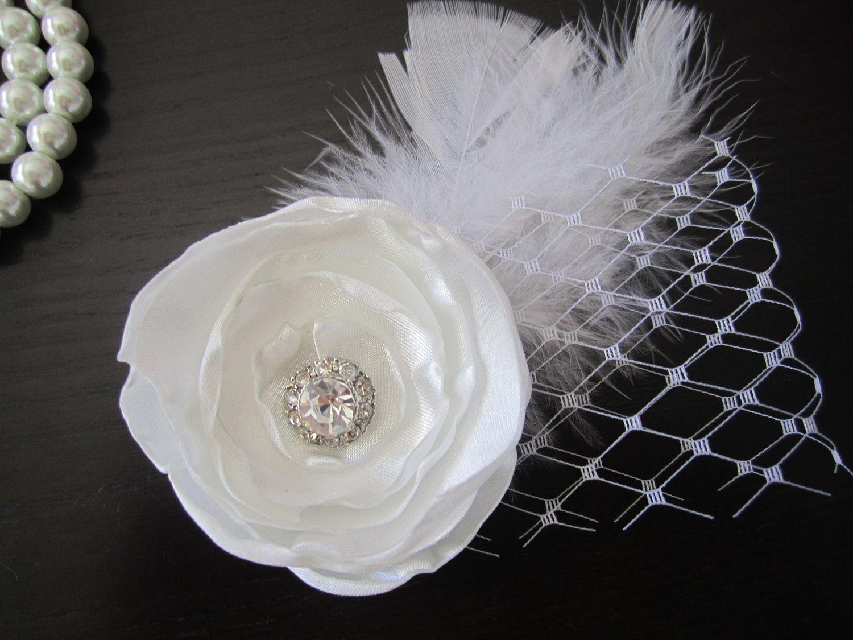 Bridal Hair Clip Wedding Flower Hair Clips Bridal Hair Flower