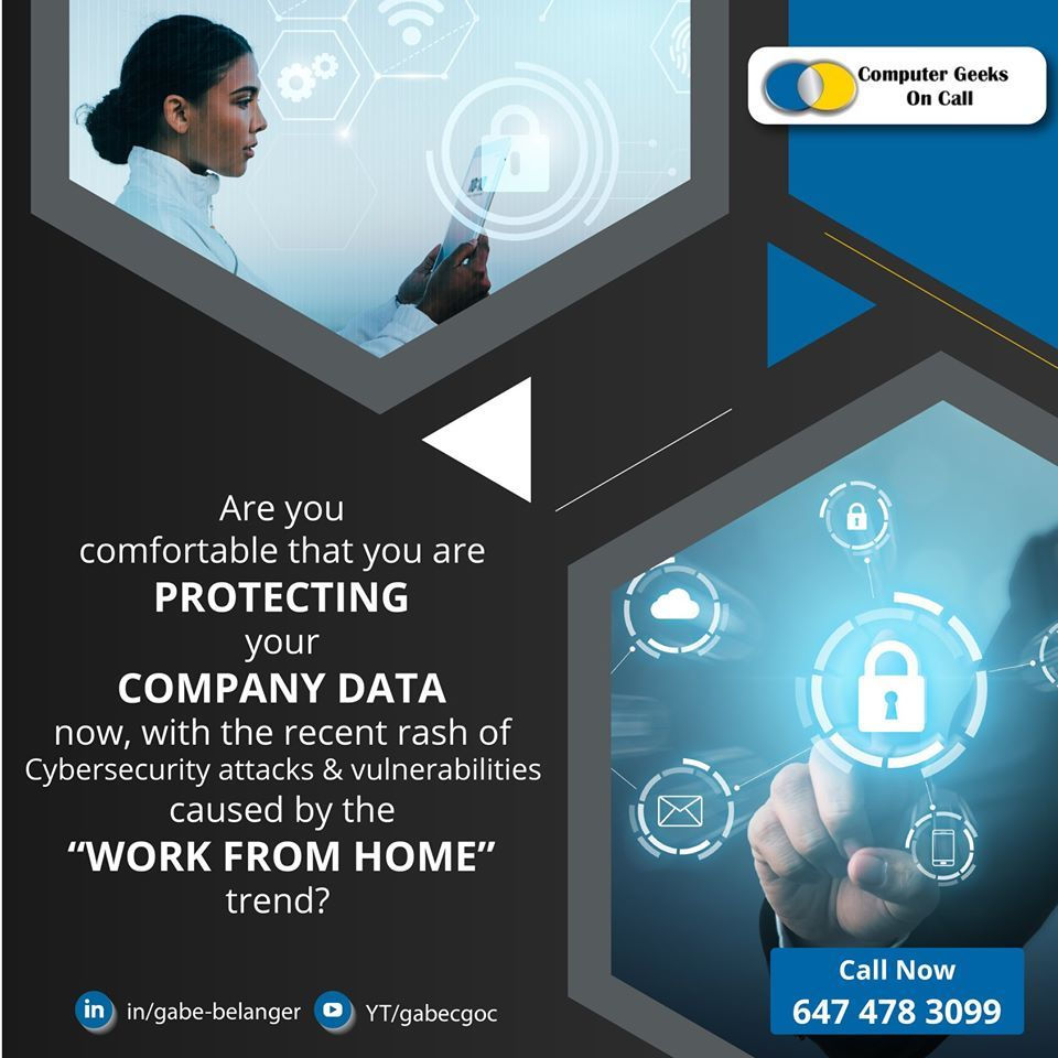Are you comfortable that you are protecting your Company
