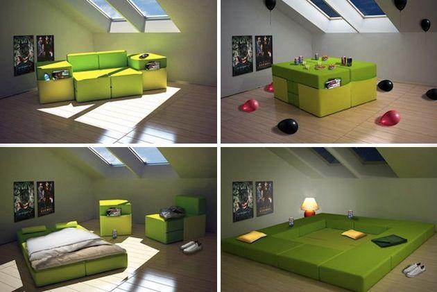Hoe haal je het maximale uit een kleine ruimte de for Tv meubel kleine ruimte