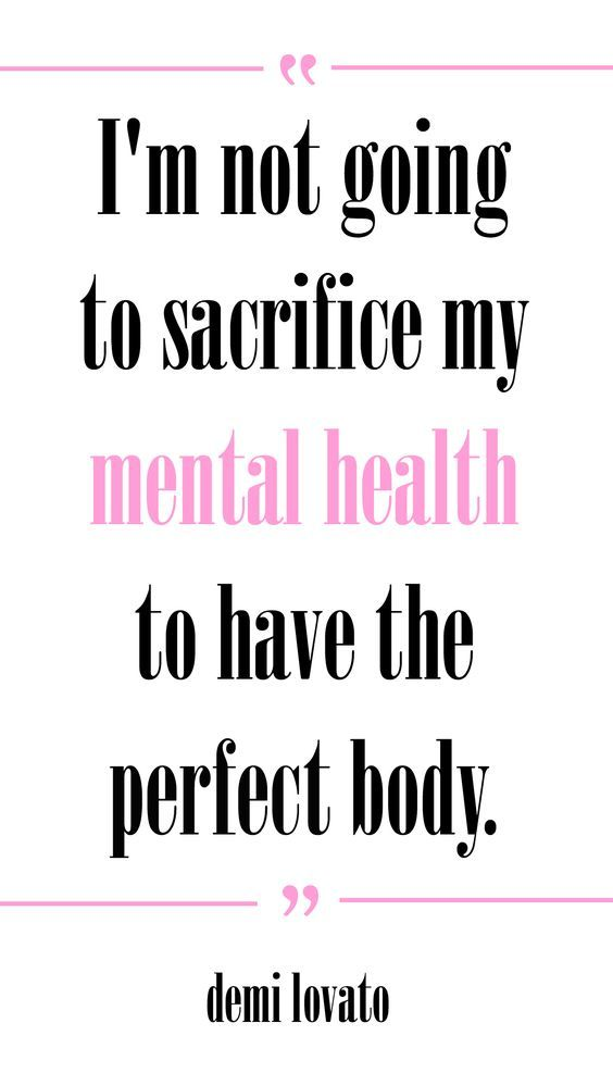 i m not going to sacrifice my mental health to have the perfect body demi lovato plus 17 other inspirational quotes about positive body image and eating
