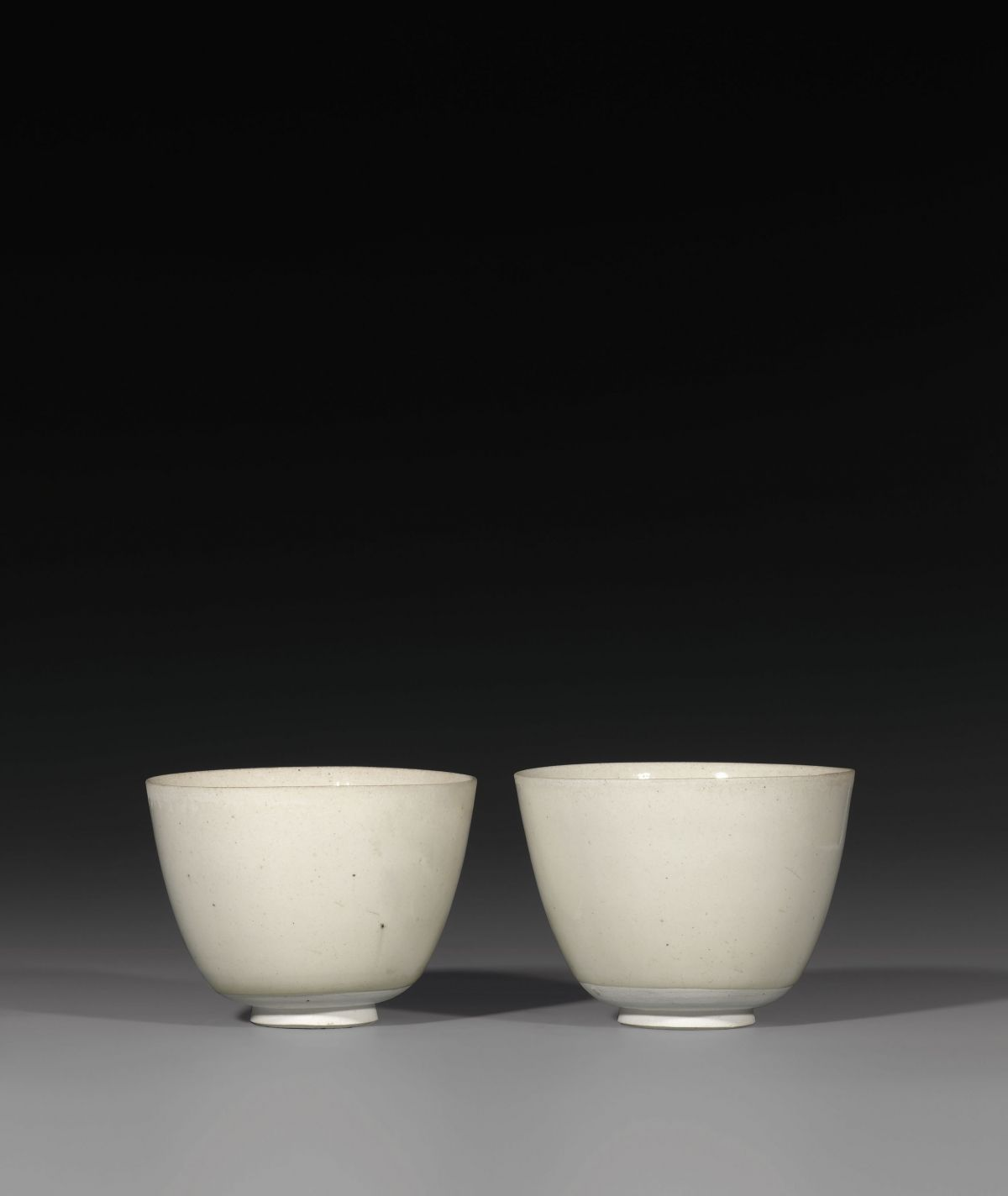 Two cups sui dynasty ad 581 618 xing or gongxian kilns 2015 two cups sui dynasty ad 581 618 xing or gongxian kilns biocorpaavc Choice Image