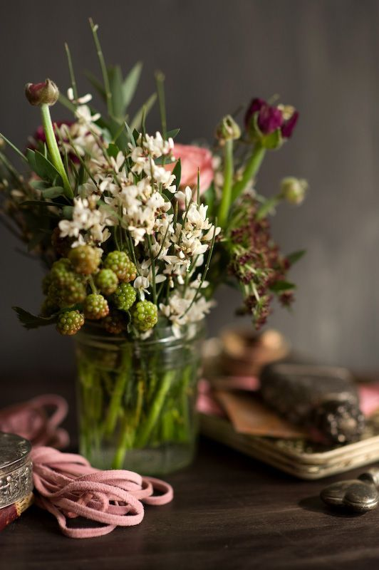 Wildblumen Hochzeit Deko Pinterest