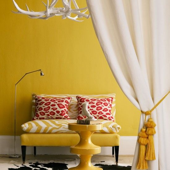 How to decorate with animal print | Antlers, Room ideas and Decorating