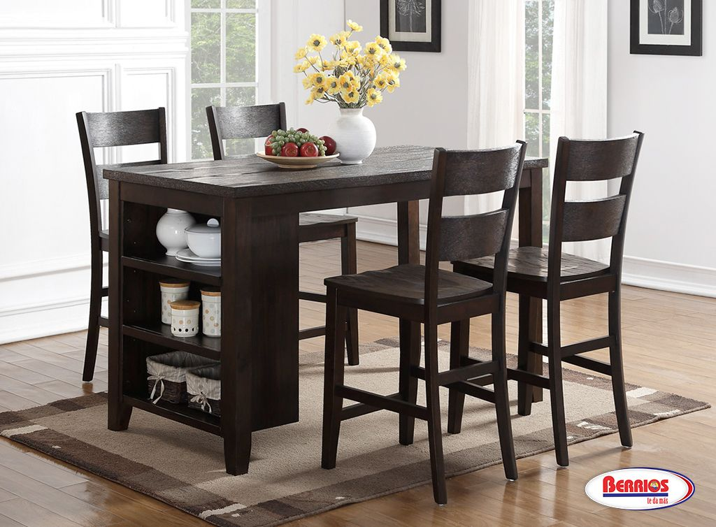 8204 Pub Table Dark Chocolate Dining Room images