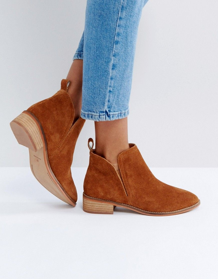 Office Andreas Suede Ankle Boots Tan