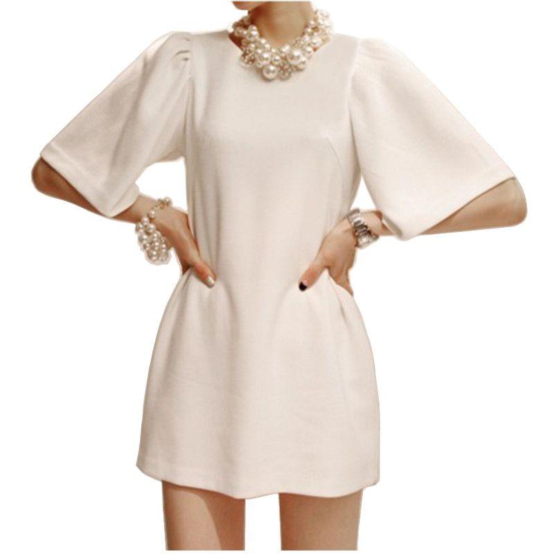 Ladies Brief Short Office Dress New 2014 Summer Plus Size Women One