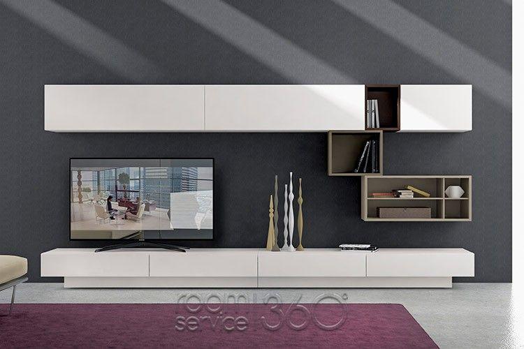 I-modulART 325 Wall Unit by Presotto   Minimalistické sestavy ...